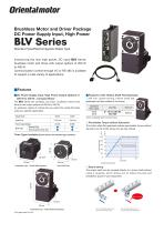 Brushless DC Motor for DC-input - BLV Series