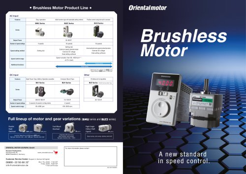 Brushless DC Motors Overview