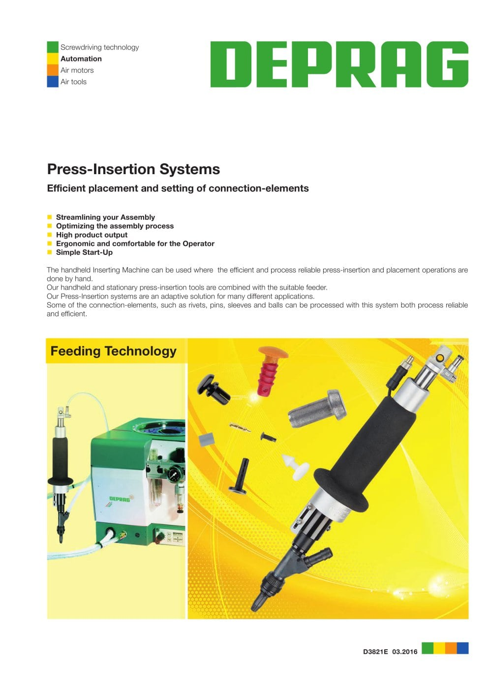 Press-Insertion Systems - 1 / 4 Pages
