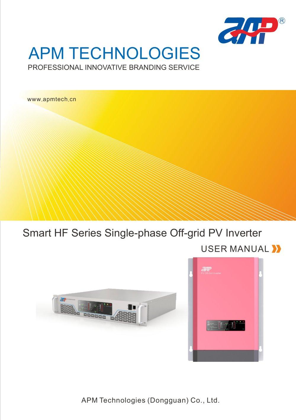 apm off grid inverter user manual apm technologies dongguan co rh pdf directindustry com liebert apm user manual apm user manual