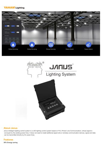 Janus LED lighting control system