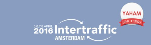 Yaham booth on Intertraffic Amsterdam 2016