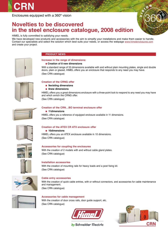c52e29b4ff News CRN Enclosures - HIMEL - PDF Catalogs