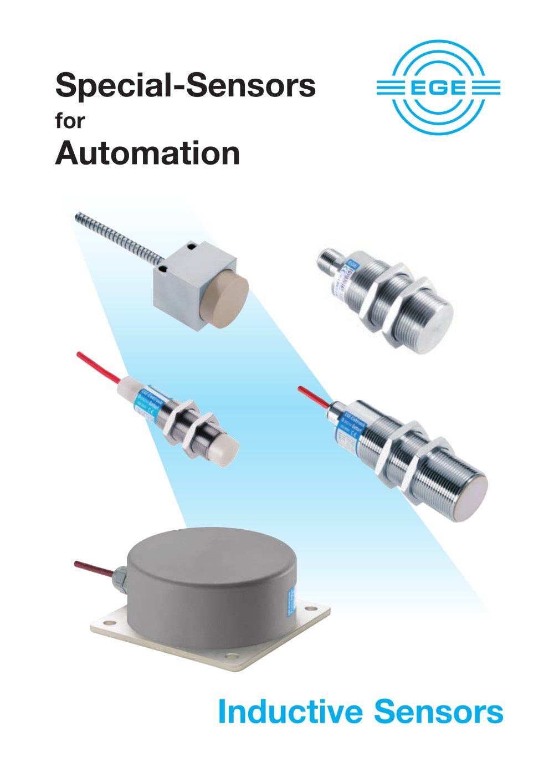 Inductive Sensors - EGE - PDF Catalogue   Technical Documentation ...