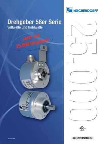 Encoders 58 Series