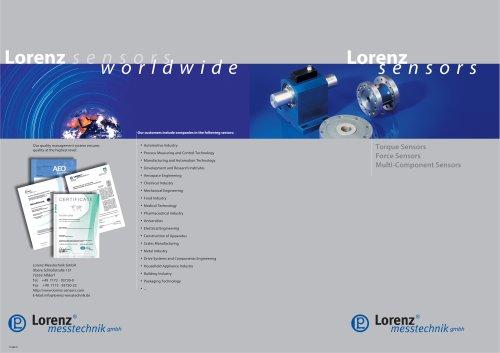 Sensor Catalog