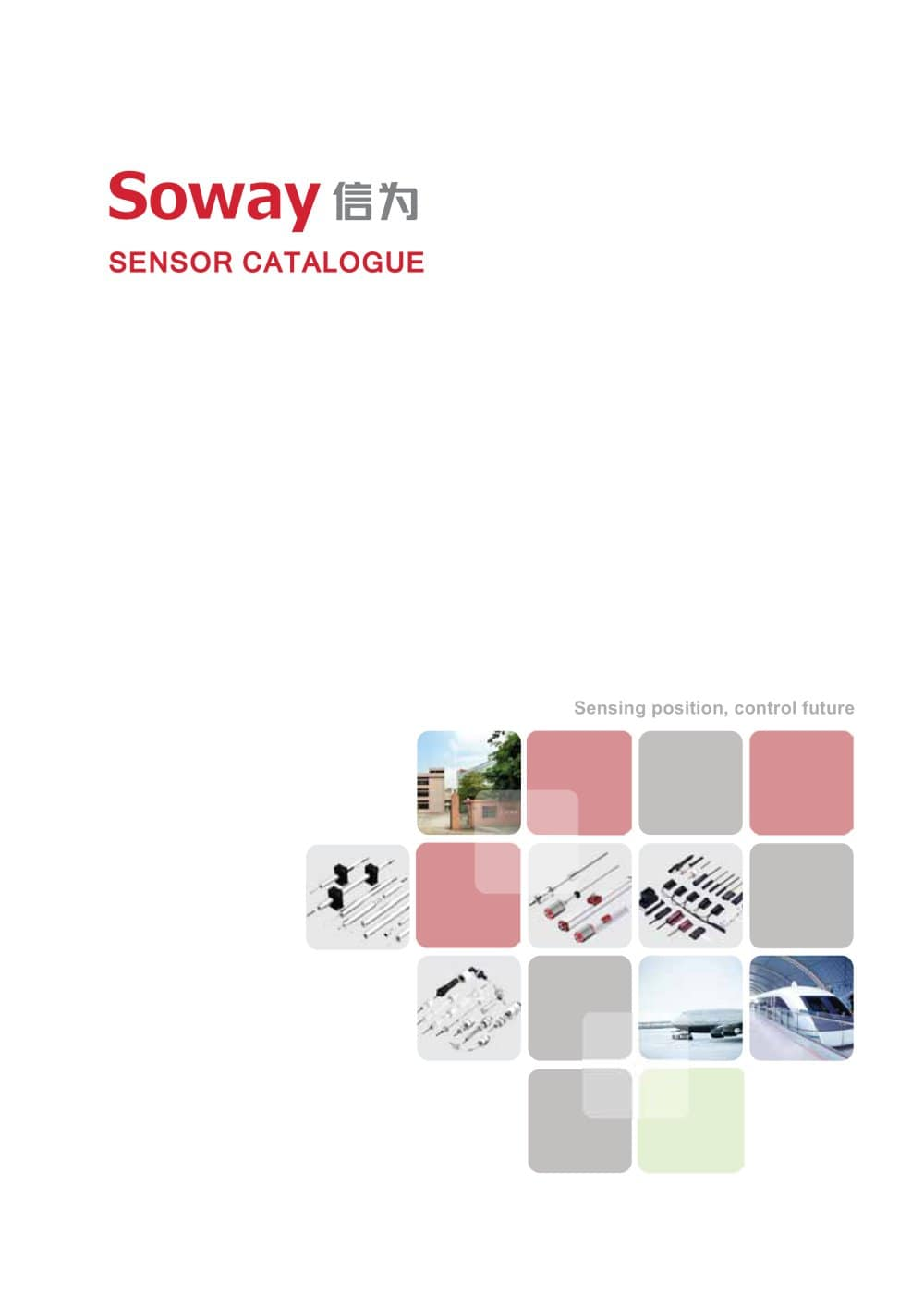 Soway Sensor Catalogue e-book LVDT Displacement Sensor - 1 / 11 Pages