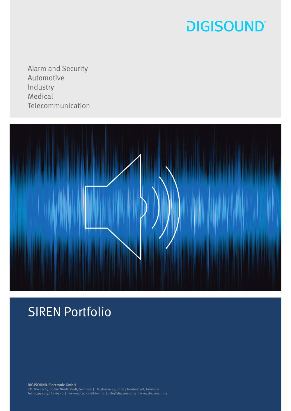 Siren Portfolio Digisound Electronic Pdf Catalogs Technical 12v Waterproof Piezo Electric Buzzer Alarm Sounder 1 4 Pages