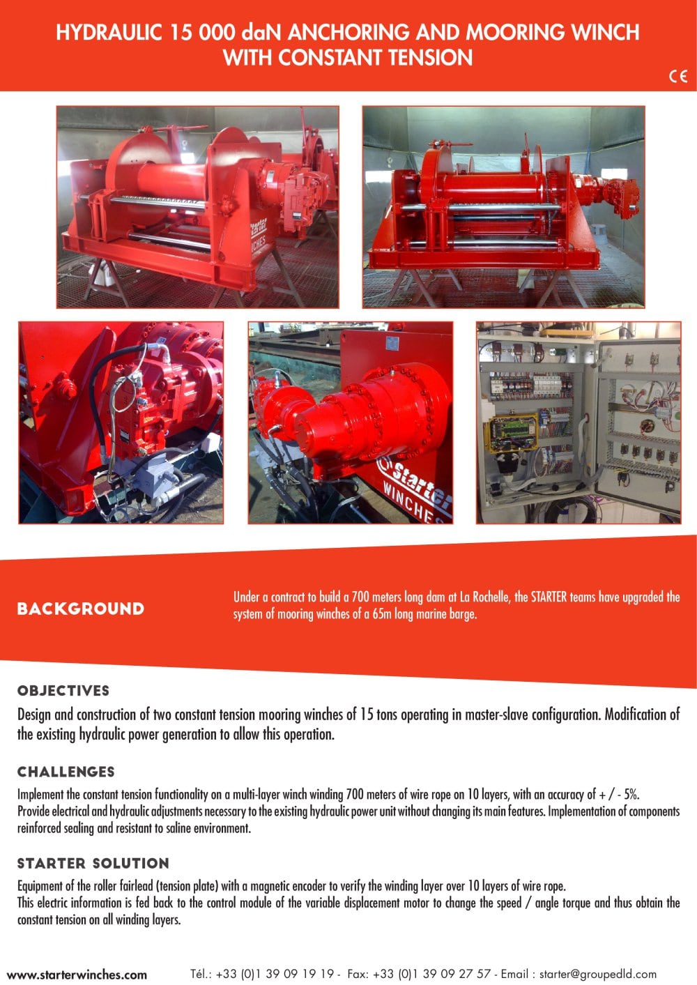 anchoring and mooring winch - 1 / 2 Pages