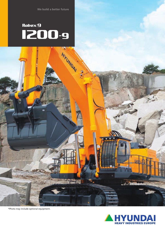 brochures R1200-9 CRAWLER EXCAVATOR - 1 / 16 Pages