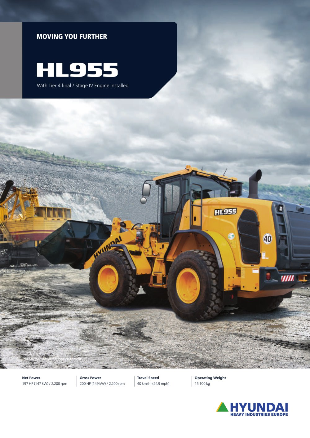 HL955 WHEEL LOADER - 1 / 16 Pages