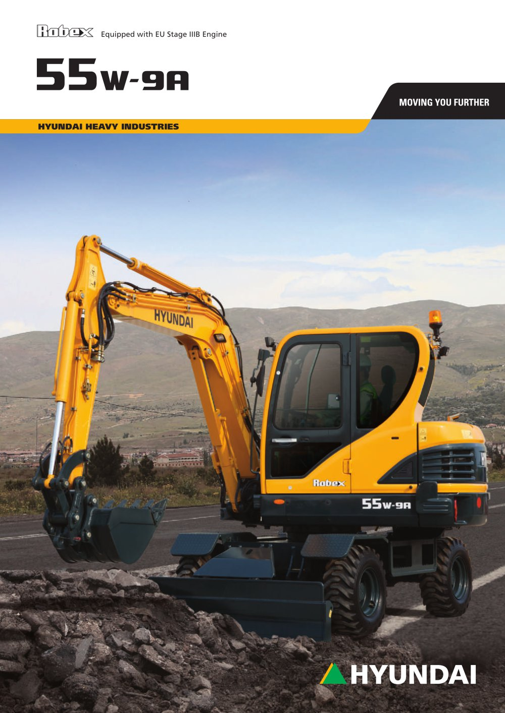 R55W-9A WHEELED EXCAVATOR - 1 / 12 Pages