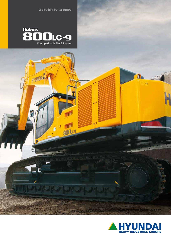 R800LC-9 CRAWLER EXCAVATOR - 1 / 20 Pages