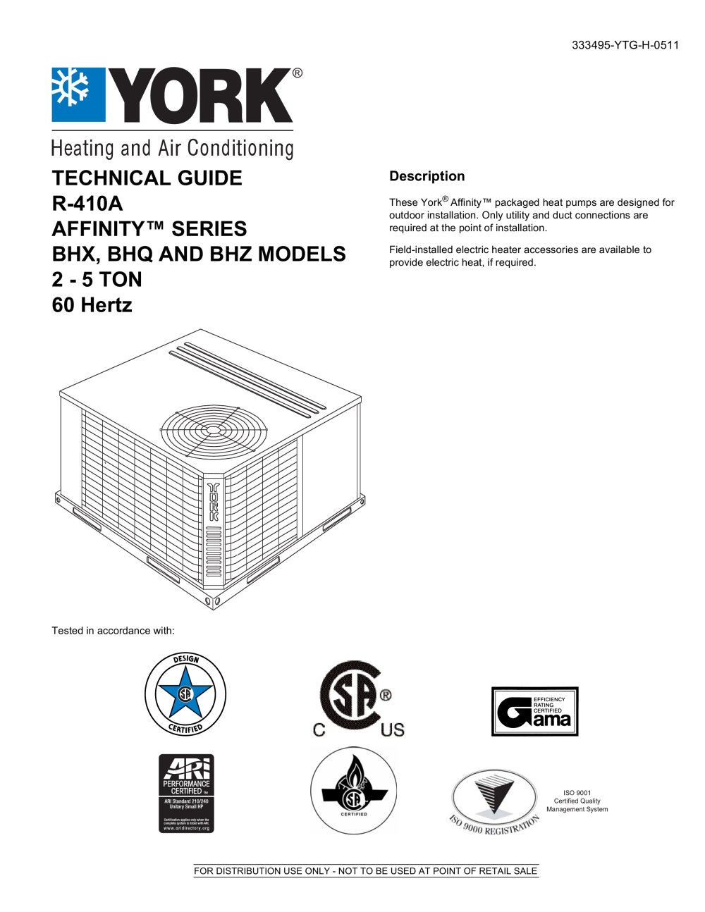 York Affinity Furnace Wiring Diagram Gas Schematic 8 S Circuit