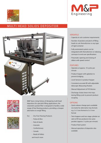 MULTI HEAD SOLIDS DEPOSITOR