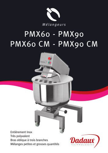 PMX60 - PMX90 - PMX60 CM - PMX90 CM