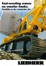 Fast-erecting cranes on crawler tracks.