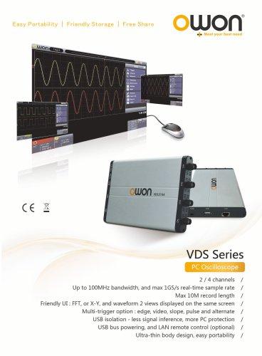 OWON PC/USB Oscilloscope VDS series - Fujian Lilliput