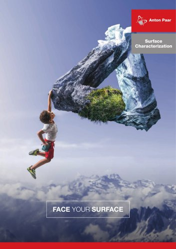 Surface Characterization Campaign