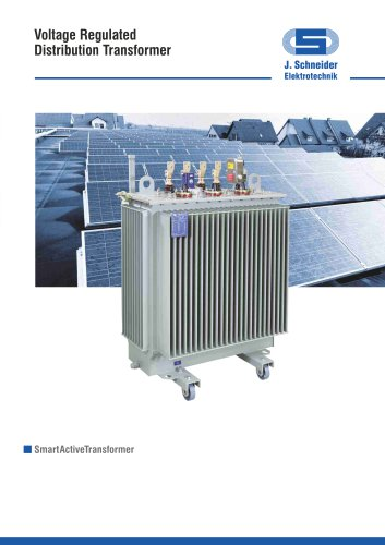 Voltage Regulated Distribution Transformer