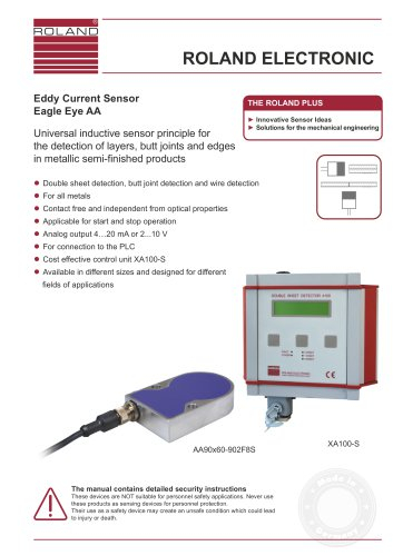 Eagle Eye AA Eddy Current Sensor