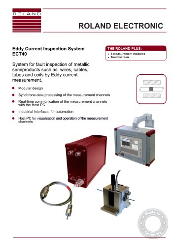ECT40 Eddy Current Inspection System