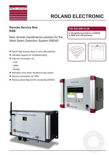 Remote Service Box RSB