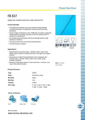 FB 637 - HERMES - PDF Catalogs | Technical Documentation