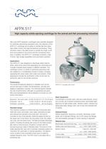 AFPX 517 High capacity solids-ejecting centrifuge  (93.81 kb)