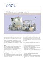 Alfa Laval beer recovery system