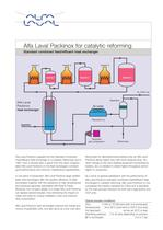 Alfa Laval Packinox for catalytic reforming