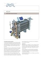 AQUA titanium-plate freshwater generator