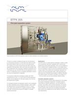 	BTPX Separator - BTPX 305 S - Pilot plant separation system 