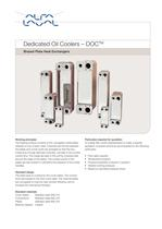 Dedicated Oil Coolers - Brazed