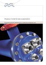 Dryplus-3 shell &amp; tube evaporators