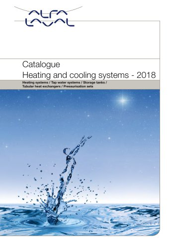 Heating and cooling systems - Alfa Laval - PDF Catalogue | Technical ...