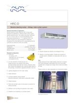 HRC-D - Banana ripening cooler  Airbag / side curtain system