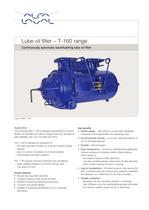 	Lube oil filter T-160 range