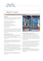 PD leaflet: AlfaVap System