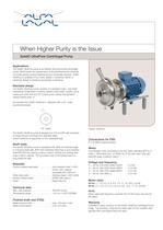  SolidC UltraPure Centifugal Pump 