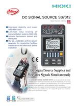 HIOKI SS7012 DC SIGNAL SOURCE