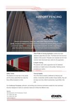 Airport Fencing, data sheet