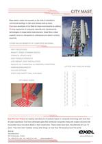 City Mast, data sheet