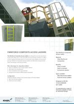 Composite Access Ladders, data sheet
