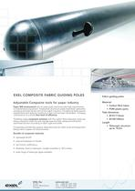 Composite Fabric Guiding Poles (Paper Industry), data sheet