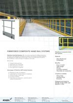 Composite Hand Rail Systems, data sheet