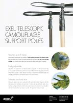 Exel Composite Telescopic Camouflage Support Poles, data sheet
