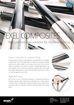 Exel Composites high-performance solutions for Machine Industry