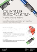 Exel Extender Telescope System, data sheet