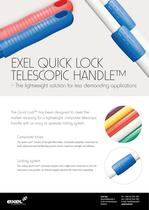 Exel Quick Lock Telescope Handle, data sheet